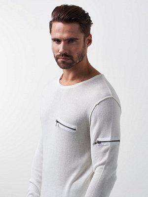 Adrian Hammond Manning Knitted Sweater Offwhite