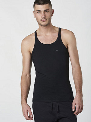 Linnen - Armani Tank Top Black