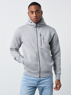 Sail Racing Bowman Zip Hood 925 Grey Melange