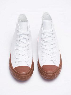 Sneakers & streetskor - Converse Chuck Tailor 2 Hi White / Gum