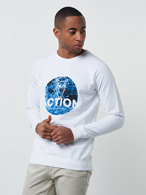 Knowledge Cotton Apparel Action Sweat 1010 White
