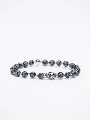 Smycken - Von Lukacs Knight Snowflake Obsidian 6 mm Snowflake