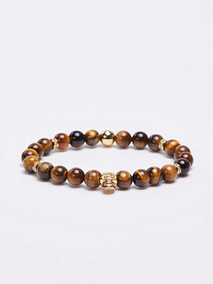 Smycken - Von Lukacs Emperor Tiger Eye Brown