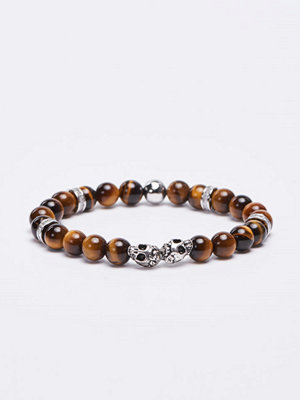 Smycken - Von Lukacs Twins Tiger Eye Brown