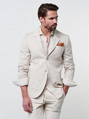 Kavajer & kostymer - Castor by Castor Pollux Octavius Blazer Neps Fabric Cream