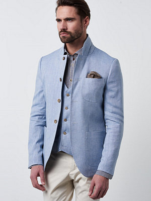 Kavajer & kostymer - Castor by Castor Pollux Octavius Blazer Herringbone Fog Blue
