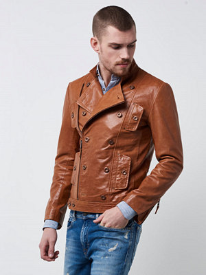 Jackor - Castor Pollux Renoir Leather Jacket Cognac