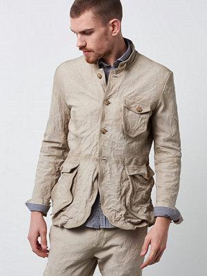 Castor Pollux Aurelius Leather Jacket Sand