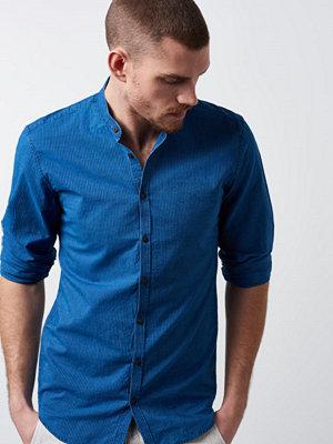 Skjortor - Castor by Castor Pollux Eros Shirt Blue Indigo