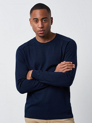 Filippa K Cotton Merino Sweater Navy