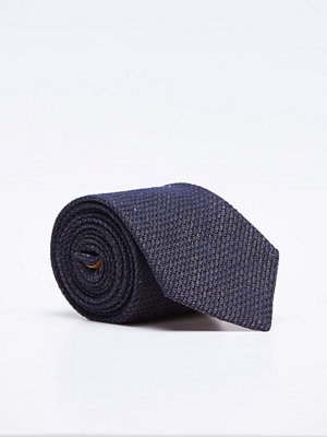 Slipsar - Castor Pollux Croatus Brown/Navy Grenadin Tie