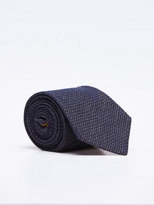 Slipsar - Castor Pollux Croatus Brown/Navy Grenadin Tie
