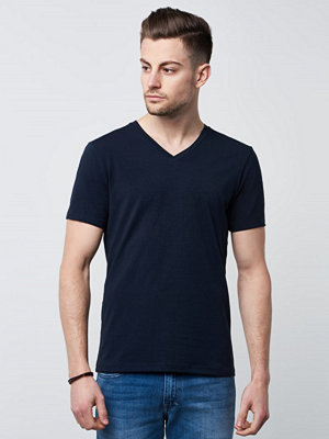 T-shirts - Bread & Boxers V-neck Dark Navy