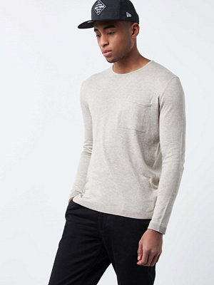 Minimum Garry Knit 018 Oister Grey Mel