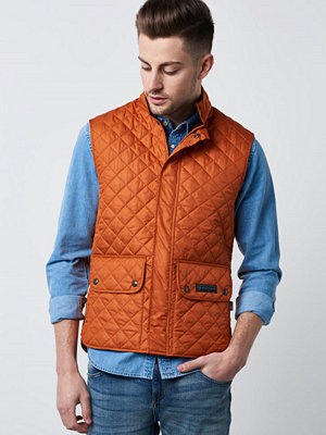 Västar - Belstaff Waistcoat 70031 Dusty Orange