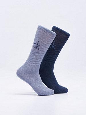 Calvin Klein Underwear Bright Logo 2-pack 99 Blue/Denim