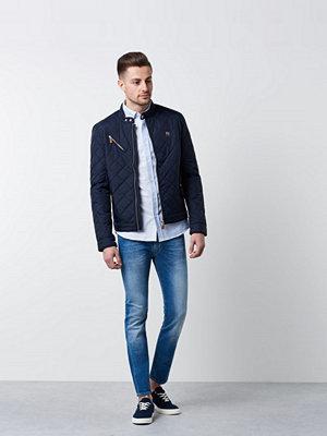Lexington Baker Oxford Shirt Blue/White Stripe