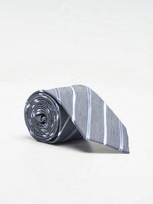 Slipsar - Amanda Christensen Silver Collection 8 cm 1 Navy