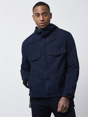 Filippa K Nathan Cotton Jacket Navy