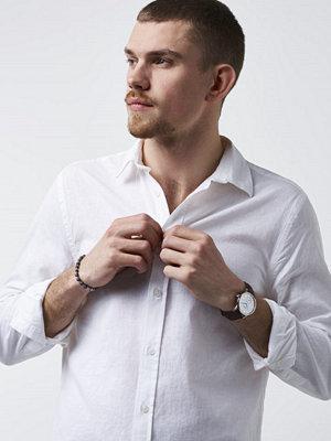 Skjortor - Marccetti Samuel Linen Shirt White
