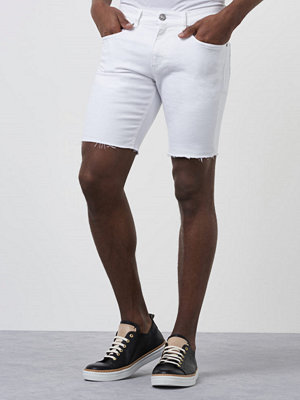 William Baxter Greg Denim Shorts Bright White