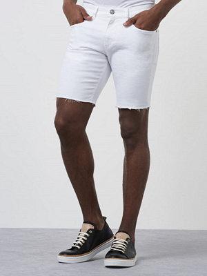 William Baxter Greg Denim Shorts Bright White