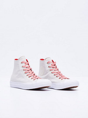 Sneakers & streetskor - Converse Chuck Tailor 2 Hi Buff / White / Ultra Red