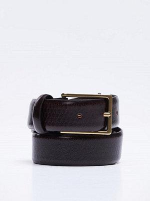 Bälten & skärp - Oscar Jacobson OJ Belt 15599 Brown