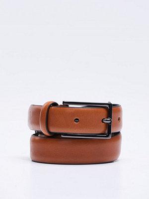 Bälten & skärp - Oscar Jacobson OJ Belt 15602 Mid Brown