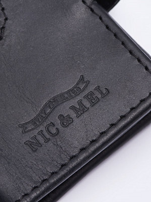 Plånböcker - Nic & Mel John Wallet Black