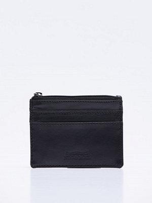 Plånböcker - Nic & Mel Charlie Card Wallet Leather Black