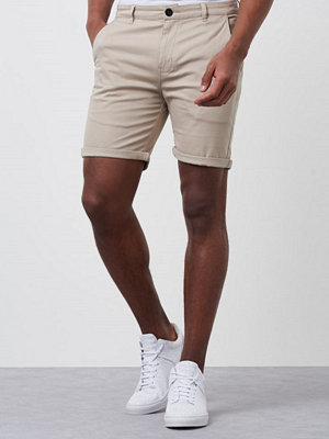 Shorts & kortbyxor - William Baxter Eric Shorts Light Sand