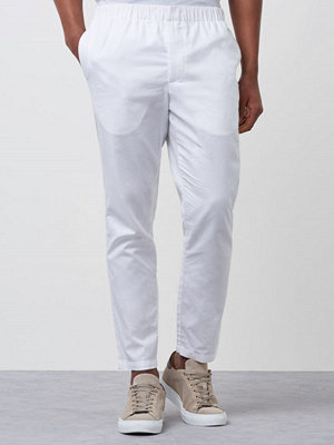 Knowledge Cotton Apparel Dobby Pant 1010 White