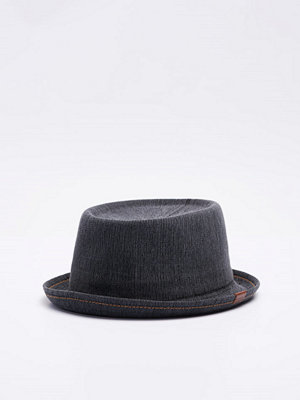 Hattar - Kangol Indigo Mowbray Black Wash
