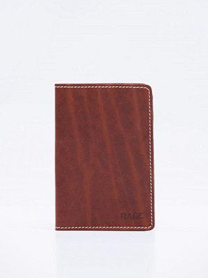 Plånböcker - Rage for Leather Eli Passport Case Brown
