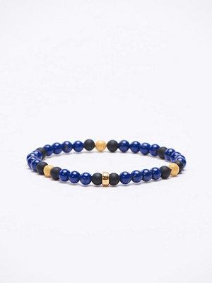 Smycken - Thomas Sabo A1529 Navy/Gold Bracelet