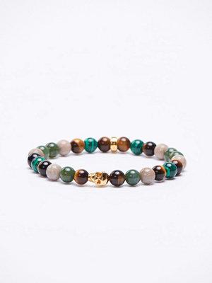 Smycken - Thomas Sabo A1533 Green/Multi/Gold Bracelet