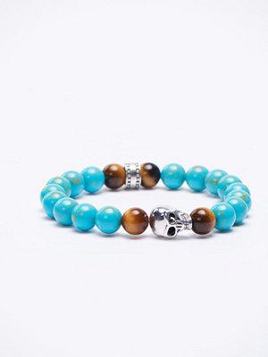 Smycken - Thomas Sabo A1560 Turkos/Silver Bracelet