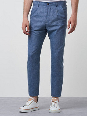 Marccetti Alex Linen Trousers Blue