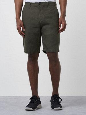 NN07 Crown Linnen Shorts 300 Green