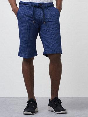 Dstrezzed Chino Shorts Star Dot Cobalt