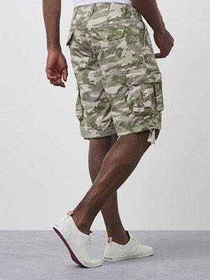 Shorts & kortbyxor - Dstrezzed Combat Shorts Camo Sand