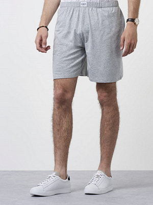 Shorts & kortbyxor - Frank Dandy Bamboo Lounge Shorts Grey Melange