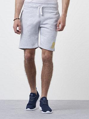 Shorts & kortbyxor - Franklin & Marshall Basic Sweat Short Light Grey