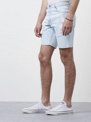 Shorts & kortbyxor - Dr. Denim Bay Shorts Serious Light Retro Ripped
