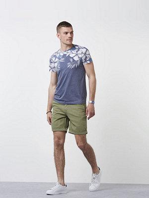Shorts & kortbyxor - Morris Morris Linen Shorts 75 Olive