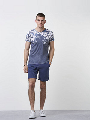 Shorts & kortbyxor - Morris Morris Linen Shorts 59 Old Blue