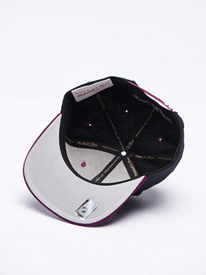 Kepsar - Mitchell & Ness Anaheim Ducks Snapback Black/Purple