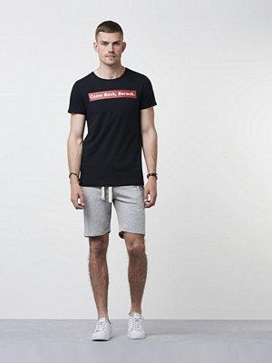 Shorts & kortbyxor - Lexington James Jersey Shorts Light Warm Grey Melange