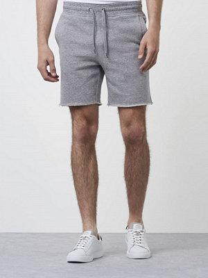 Shorts & kortbyxor - Kvarn Einar Sweatshorts Grey Mel